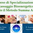 Il Percorso si prefigge di far acquisire le nozioni fondamentali per poter praticare in autonomia il massaggio Bioenergetico a prescindere dalle tecniche di Massaggio conosciute. Lo studente apprenderà tutte le […]